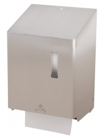 Hand towel roll dispenser touchless