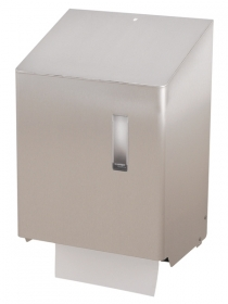 Hand towel roll dispenser automatic